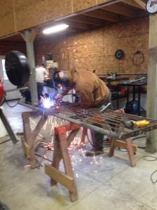 welding gate