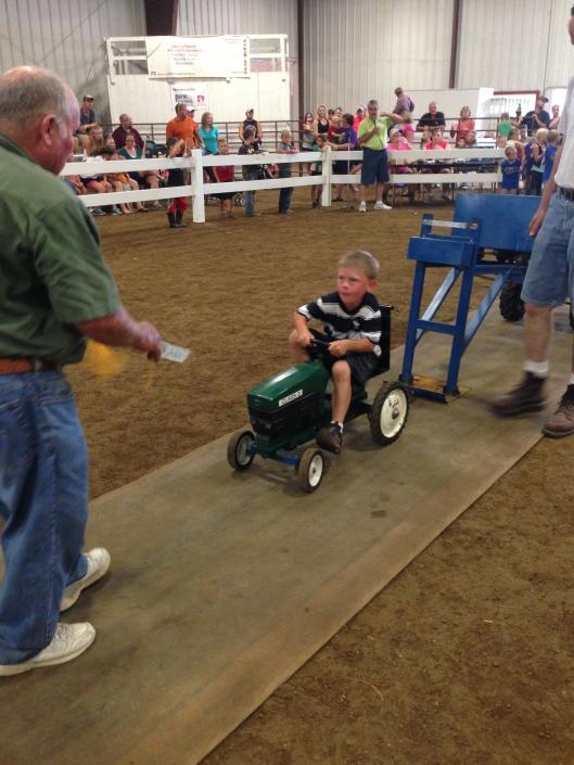 Hartford Fair Pedal Tractor Pull