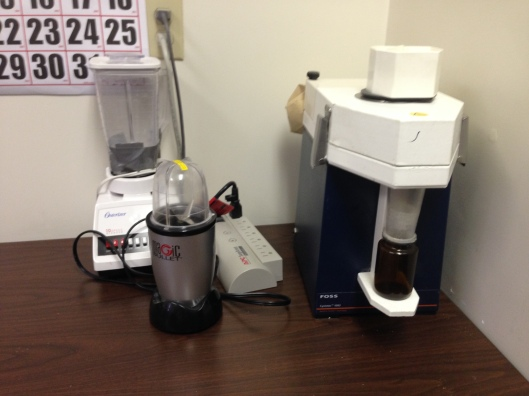 blenders in feedmill office